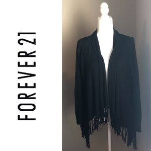 ❤️Forever 21 Black Sweater with Tassels